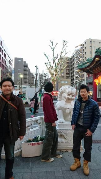 中華街入りますよ!