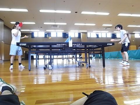 Yodoq卓球部にも燃えるように熱い真剣勝負がしばしば繰り広げられます
