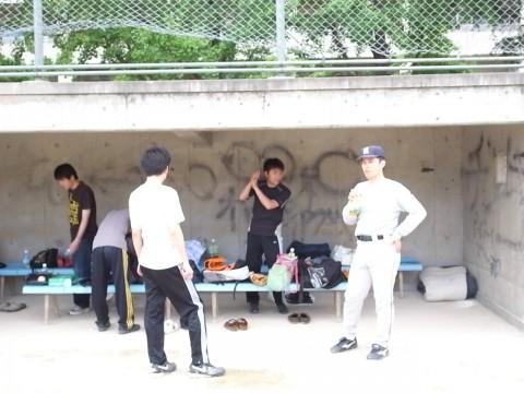 ヨドックの野球部はみんな本格派。