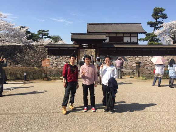 松代城でぱちり!
